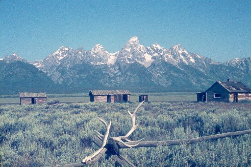 Movie Set in Jackson Hole
